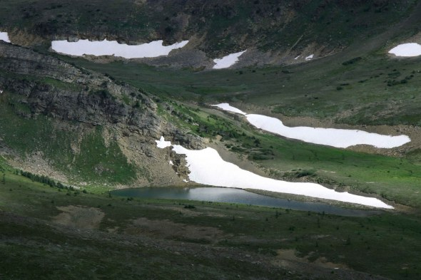 North Cornice Lake Pitch